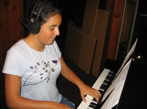 "Shadi Eshraghi (12) ""I love music because it makes me feel calm, happy and it takes me to another world."""