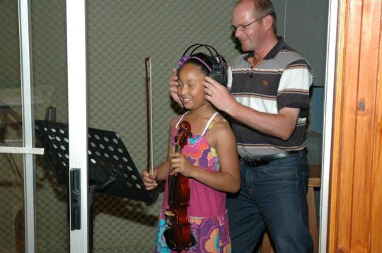 Estee with Henk Steenkamp (MusicatWork) www.musicatwork.co.za