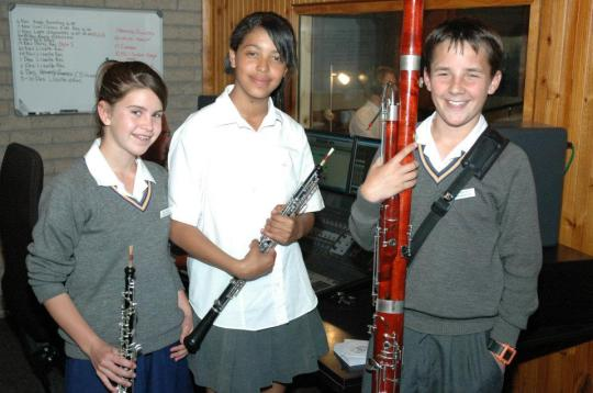 Our trio was featured on December Cool Classic Kidz program. They are from Hugo Lambrechts Music Centre