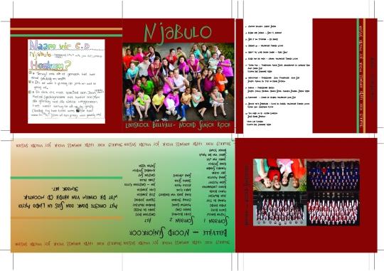 Laerskool Bellville Noord Koor CD design