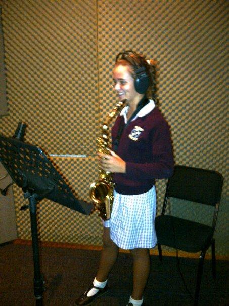 Gemma Earl (11) Saxophone