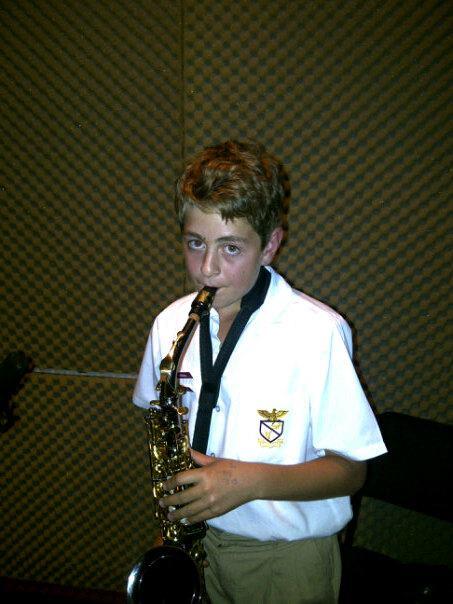 Nathan van der Westhuyzen (12) - Saxophone
